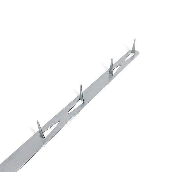 Barre métallique de finition