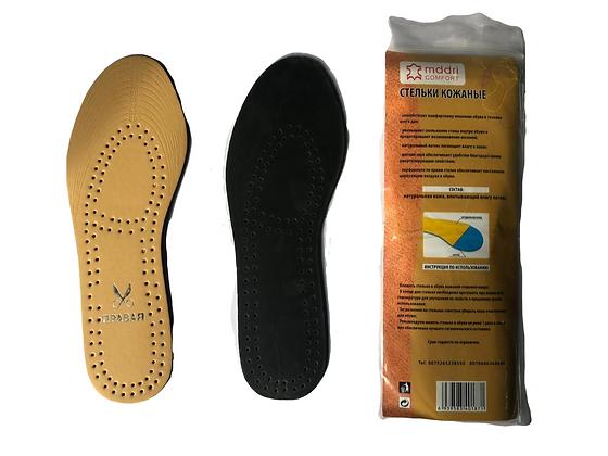 Стельки для обуви Эко Кожа (бежевые)