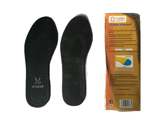 Стельки для обуви Эко Кожа (черные)