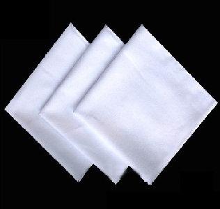 платок носовой белый