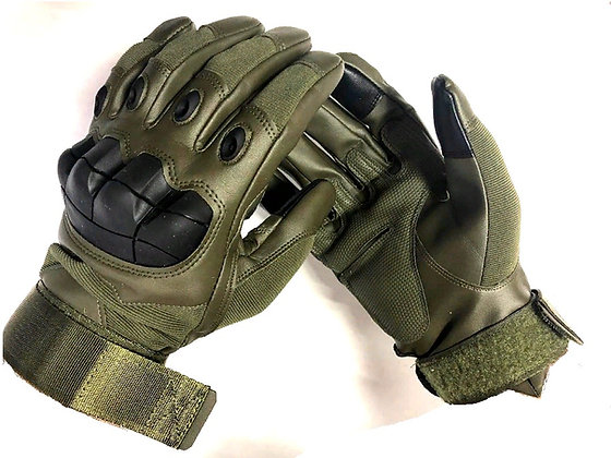 перчатки кожа+резина