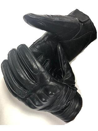 перчатки кожаные с накладками