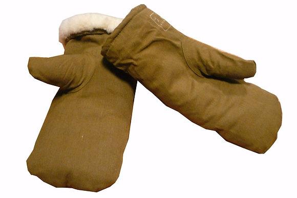 рукавицы с овчиной