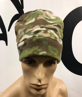 шапка флисовая однослойная