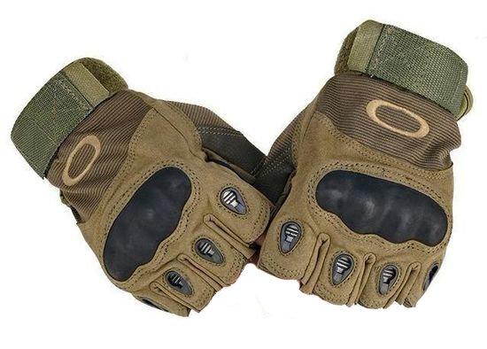 перчатки тактические короткие с кевларом