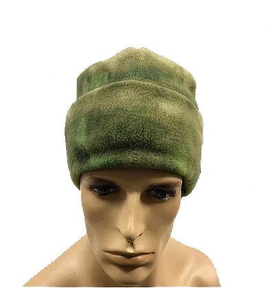 шапка флисовая двухслойная
