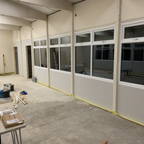 New windows and side walls