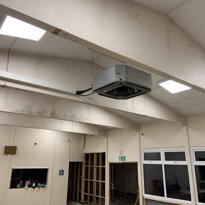 New air source heating and cooling system