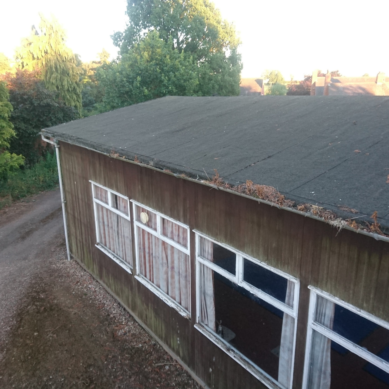 Roof before renovation