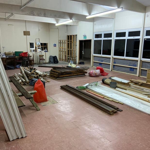 The Hall - new windows!