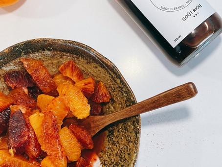 Maple Orange Salad