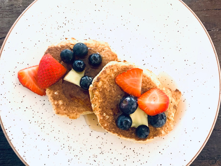 Our favorite fluffy pancakes