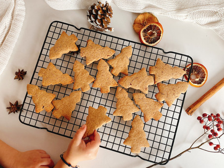 Gingerbread Maple Cookies