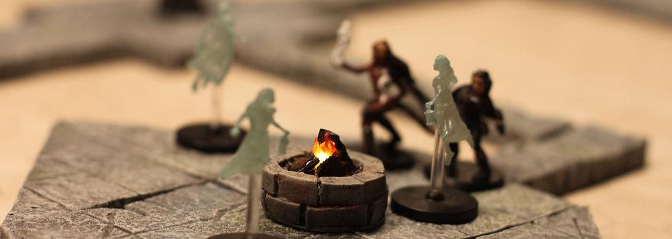 Figurines pour Donjons et Dragons et jeu de rôle.