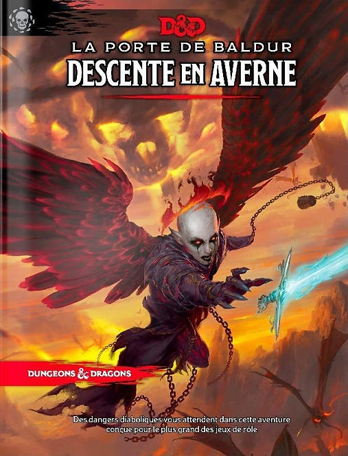 La Porte de Baldur: Descente en Averne (FR)