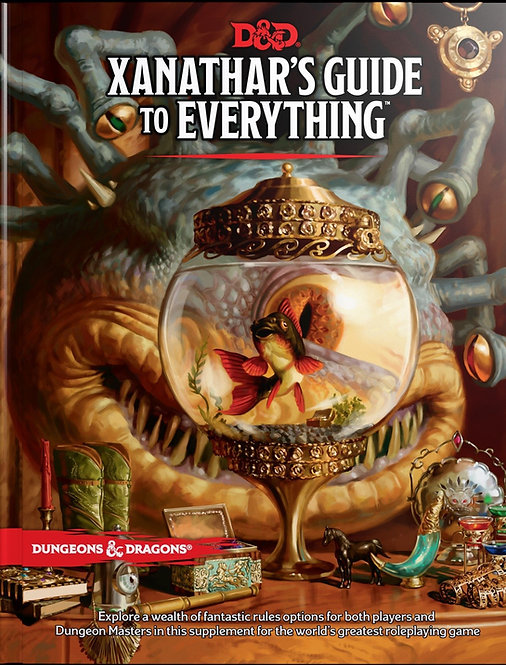 Xanathar's Guide to everything (EN)