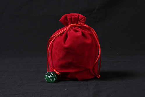 Grand Sac en tissu rouge