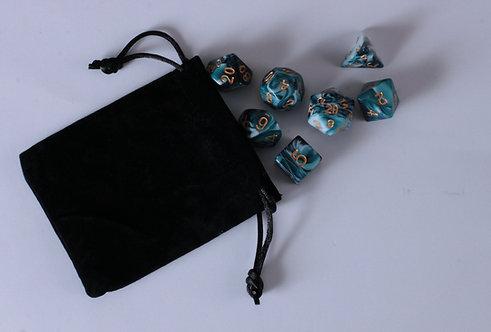 Petit sac en tissu noir