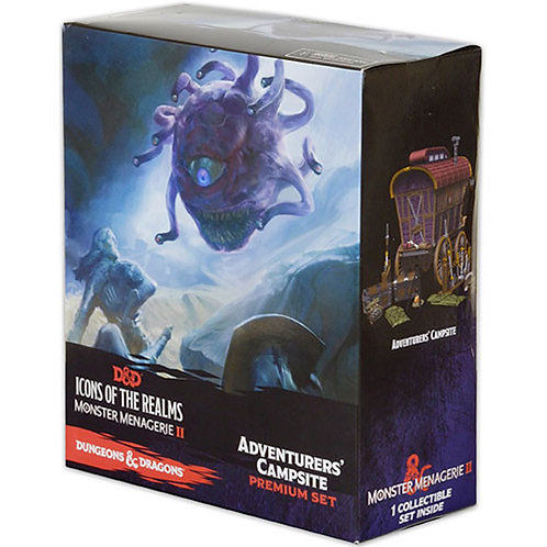 Campement d'aventurier - Premium Set - Monster Menagerie 2 Icons Of The Realms