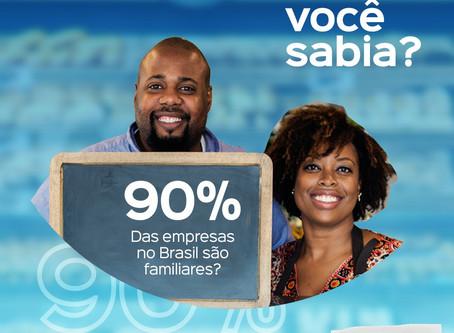 Você sabia que 90% das empresas no Brasil são familiares?