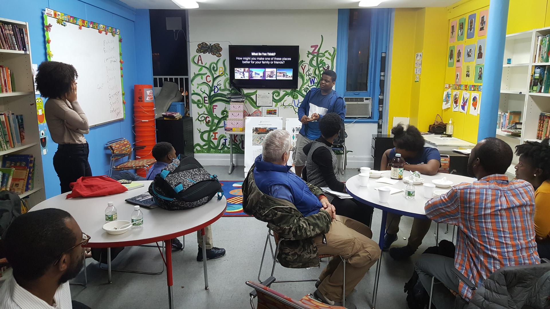 BedStuy Places Mentor Workshop
