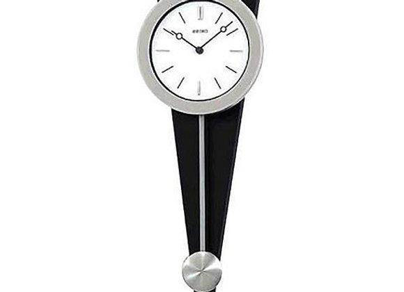 Seiko Silver-Tone Pendulum Wall Clock