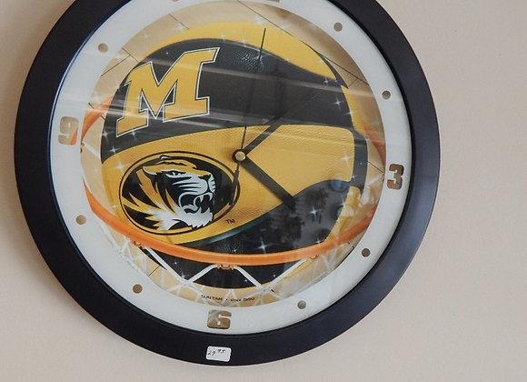 Mizzou Basketball Wall Clock