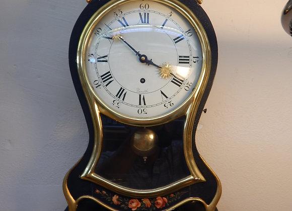 "Swiss ""Key Hole"" Style Wall Clock"