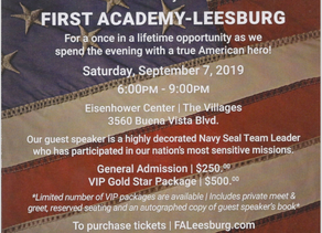 First Academy, Leesburg, 2019 Patroit Day Event
