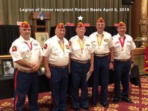 Marine Robert Beale, Receives Legion Of Honor