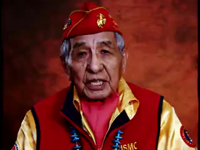 """Honoring the """"Code Talkers of WW2."""