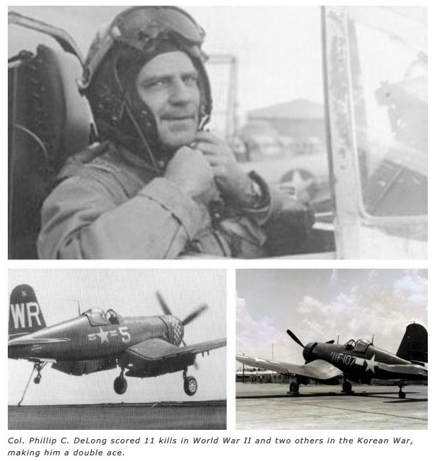 Phillip C. DeLong, MAJ. USMC cira 1950s