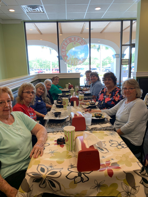 MCLA The Villages Monthly Lunch