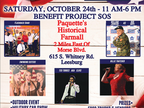 USO Tribute Event Sponsored BY VILLAGERS FOR VETERANS