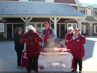 MCLA Villages Unit Red Shirt Sales Support
