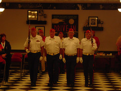 Color Guard During Meeting