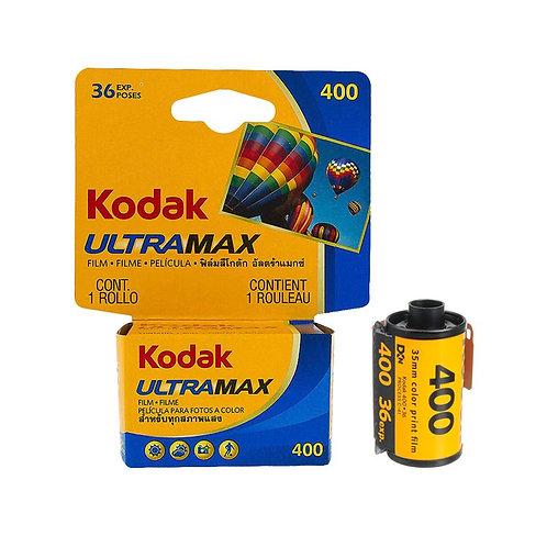 Filme Kodak UltraMax ISO 400 36 poses