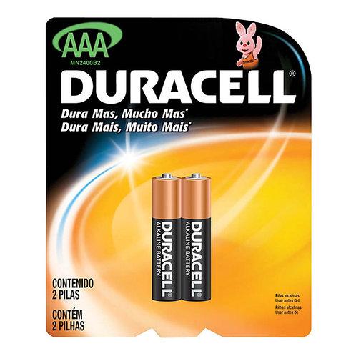 Pilha AAA Duracell
