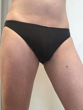 Black briefs - small
