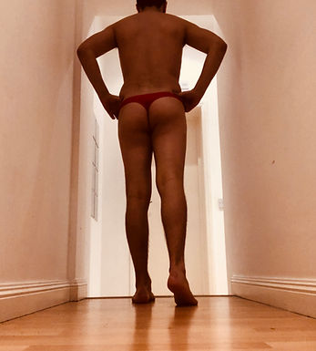 Red Thong - Small
