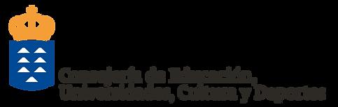 Logo de la Consejería de Educación, Universidades, Cultura y Deportes del Gobierno de Canarias