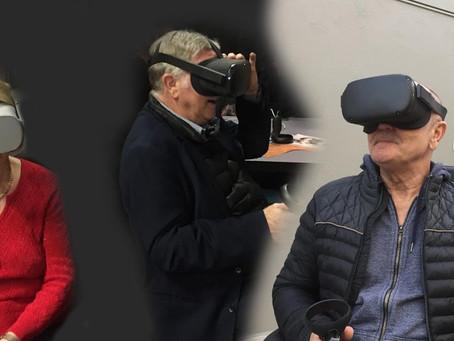 La réalité virtuelle pour les personnes âgées : un moyen efficace contre la solitude