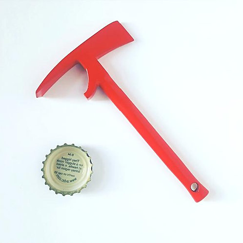 Red Pulaksi bottle opener