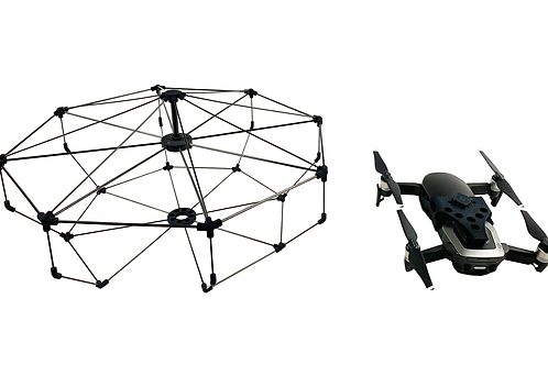 Dronecage with Mavic Air