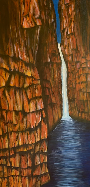 Dreaming of Kimberley Gorges 152x76cm