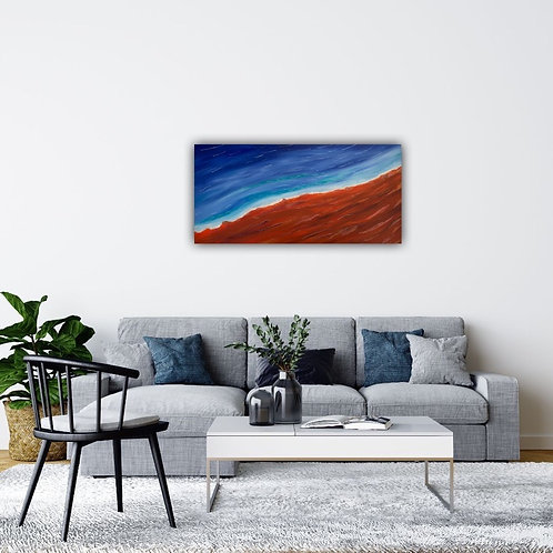 Towards Shore 91x46cm