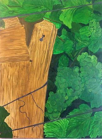 Landscape Painting The Vines Di Parsons Art