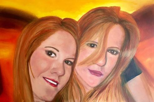 Portrait Painting The Nieces