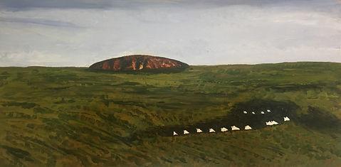 Landscape Ulura and Longitude 131
