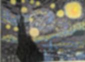 Wall Mosaic Van Gogh's Starry Night